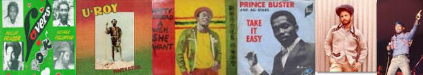 reggae artists u roy prince buster lovers rock record sleeves