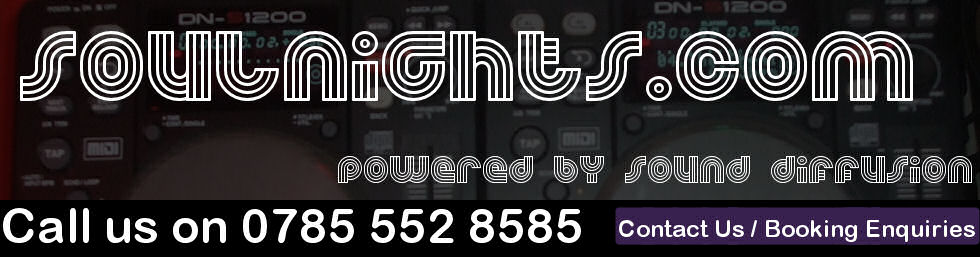 Sound Diffusion soul dj party nights